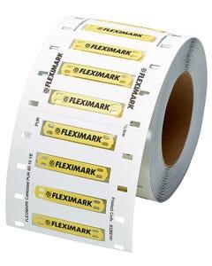 FLEXIMARK Cablelabel PUR 100x60 WH FCC