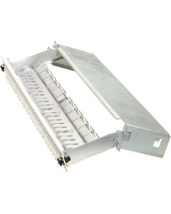 Patchpanel for 24 Snap-In