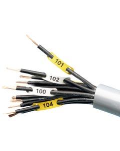FLEXIMARK Wire marker F3 6-16 WH FCC