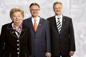 Ursula Ida, Andreas and Siegbert Lapp