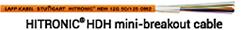 HITRONIC(R) HDH mini-breakout cable